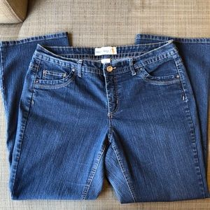 JMS Just My Size Stretch Bootleg Jeans sz 18W EUC